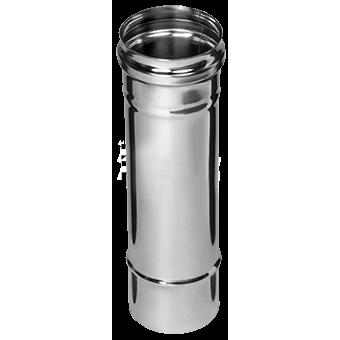 Дымоход Ø125х0,5х0,25м (AISI 430) (1/10)
