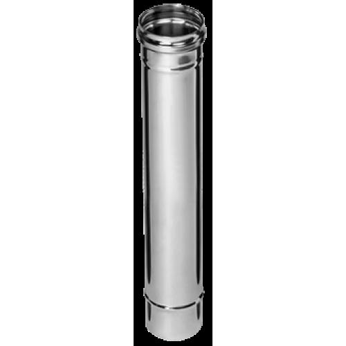 Дымоход Ø125х0,5х0,5м (AISI 430) (1/10)