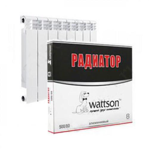 WATTSON Радиатор AL 500 080 08