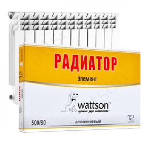 WATTSON Радиатор AL Элемент 500 080 12