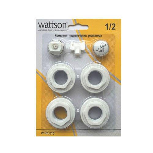 """WATTSON Комплект подключения радиатора 1/2"""""""