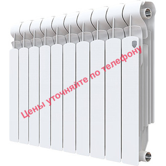 Радиатор алюминиевый Indigo 500 6 секц.