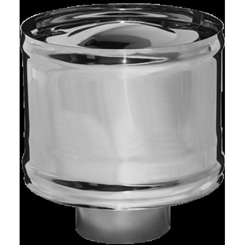 Зонт-Д с ветрозащитой Ø110х0,5 (AISI 430) (1/2)
