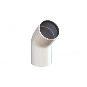 Колено М-П 80/80 45° с манжетой