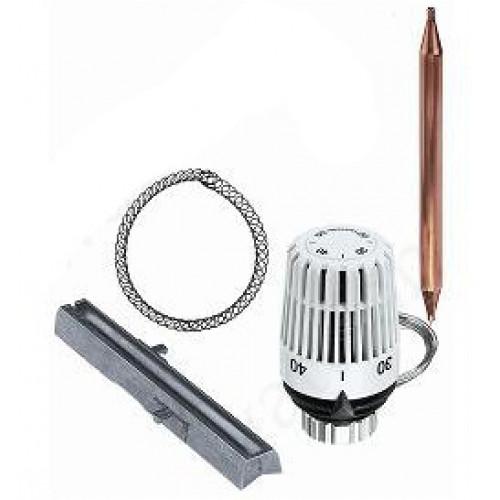 GEFFEN Термостатическая головка с выносным датчиком и монтажным комплектом (диап. 40-70°С)  МКС100