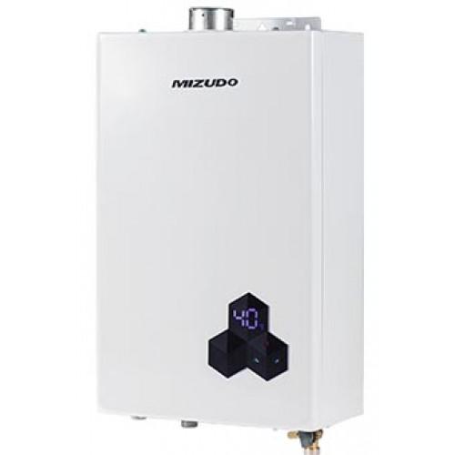 MIZUDO Колонка газовая 4-10 Т Полутурбо (Электромодуляция)